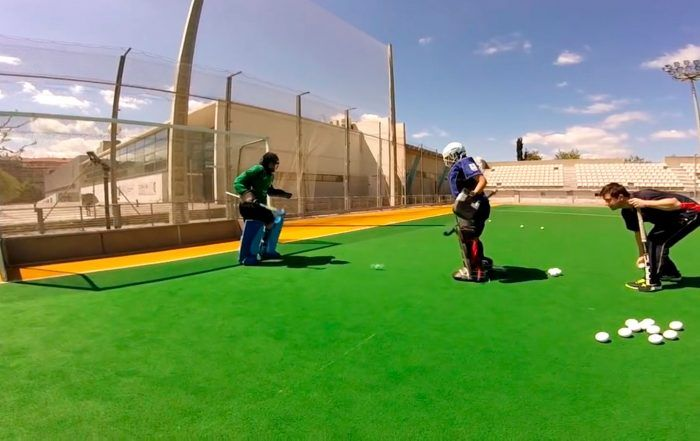 fieldhockey goalkeeper