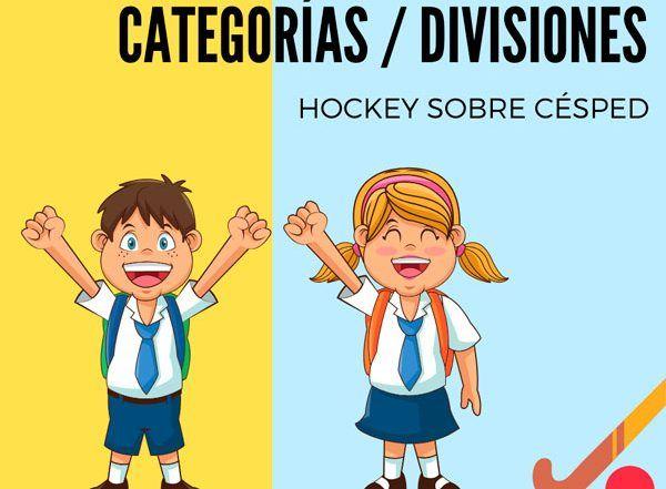 categorias de hockey edades 2019