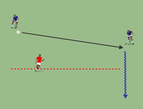 Principios básicos del 2vs1 en hockey